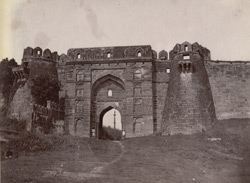 East gate of the Fort, Jaunpur.